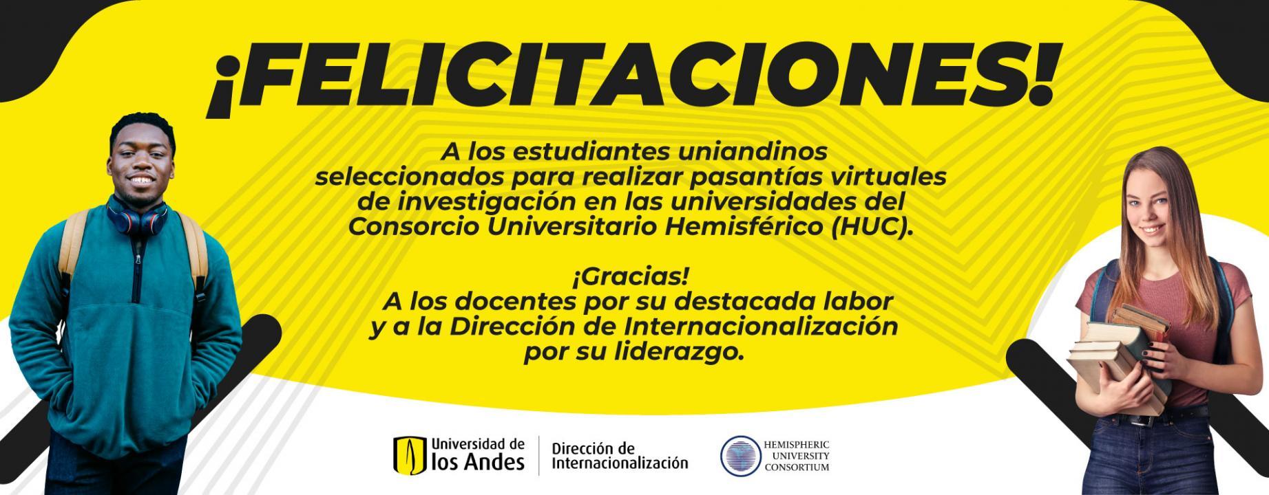 Pasantías en el Consorcio Universitario Hemisférico (HUC)