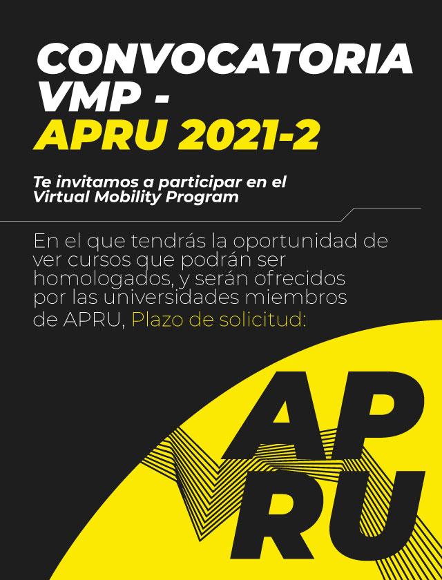 Convocatoria VMP APRU 2021-2