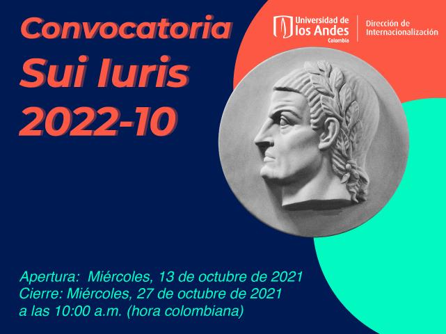 Convocatoria Sui Iuris 2022-10