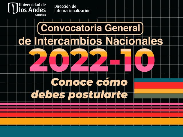 Convocatoria general de intercambios nacionales 2022-10