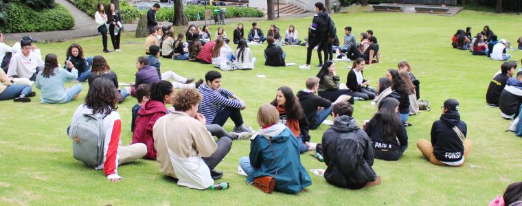 Estudiantes extranjeros de intercambio