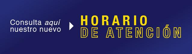 Horario de atención Dirección de Internacionalización